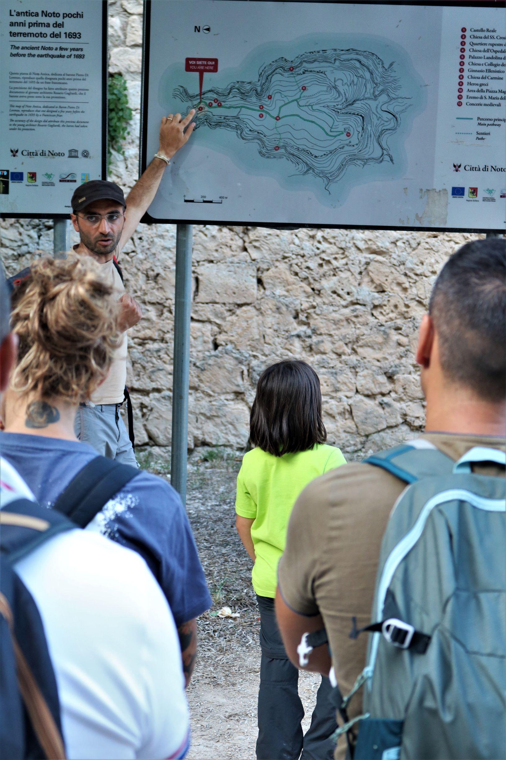 educazione ambientale, scuole,escursionismo, iblei